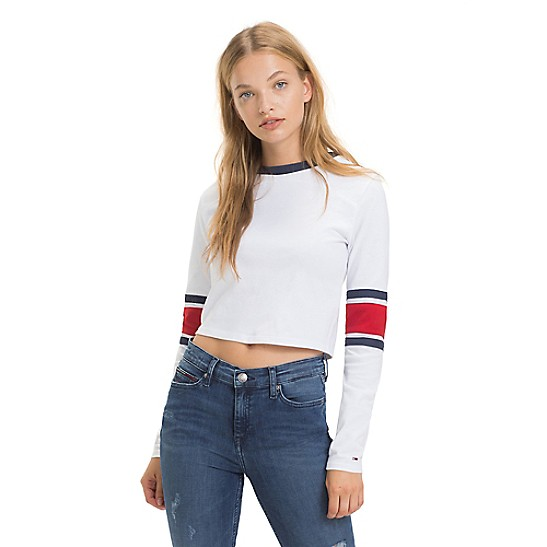 Tommy Jeans Cropped Tee