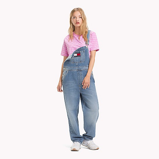 great variety styles buy good how to orders Oversized Denim Overalls