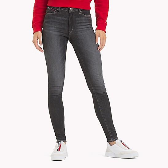 166b0522 High Rise Skinny Black Jean | Tommy Hilfiger