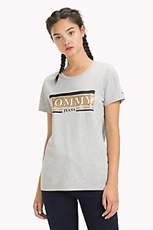 Metallic Logo T Shirt
