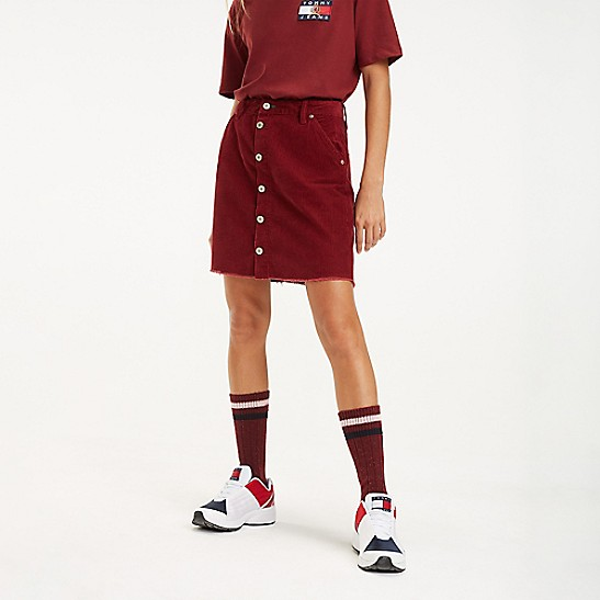 f8007bff67 Crest Capsule Corduroy Skirt | Tommy Hilfiger