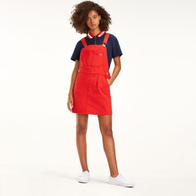 tommy hilfiger overall dress