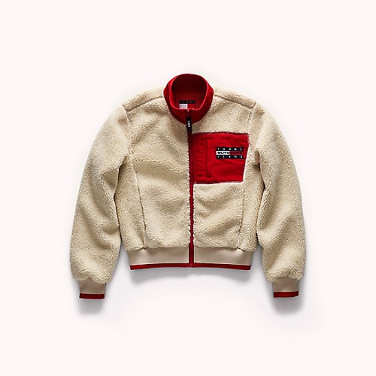 Tommy Jeans Outdoors Sherpa Bomber
