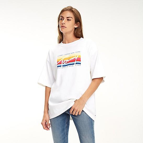 0ce456ea1 Oversized Logo T-Shirt | Tommy Hilfiger