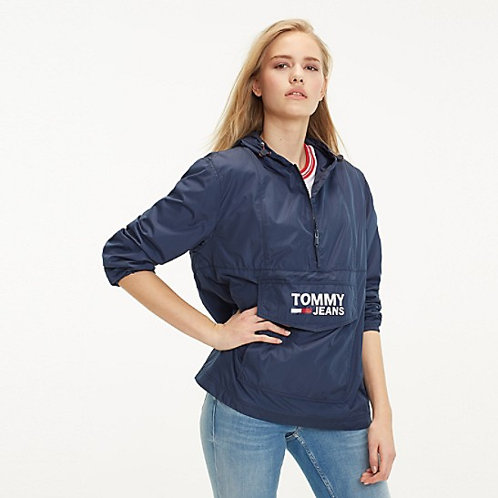 98a83357bf0 Popover Hooded Windbreaker | Tommy Hilfiger