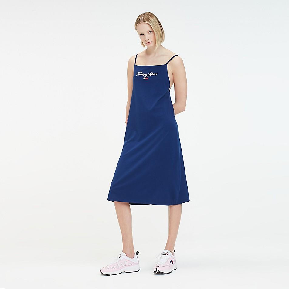 FINAL SALE Logo Strap Dress