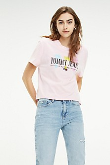 f7f05be98d5 T-Shirts & Polos | Tommy Jeans Women | Tommy Jeans | Tommy Hilfiger USA
