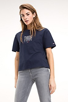 2341cd5fa00f4c T-Shirts & Polos | Tommy Jeans Women | Tommy Jeans | Tommy Hilfiger USA