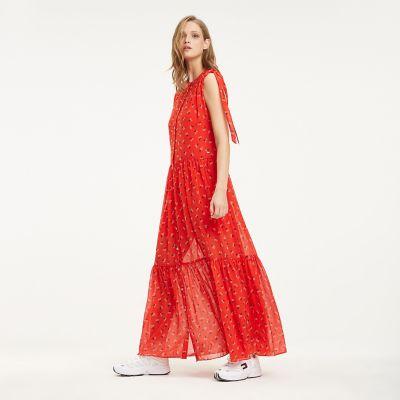 maxi dress tommy hilfiger