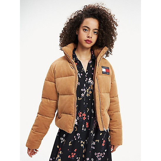 size 7 cheapest price pretty cool Corduroy Puffer Jacket