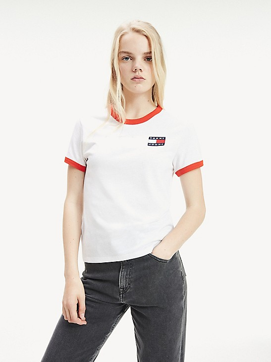 Tommy Jeans Damen Essential Polo Shirt