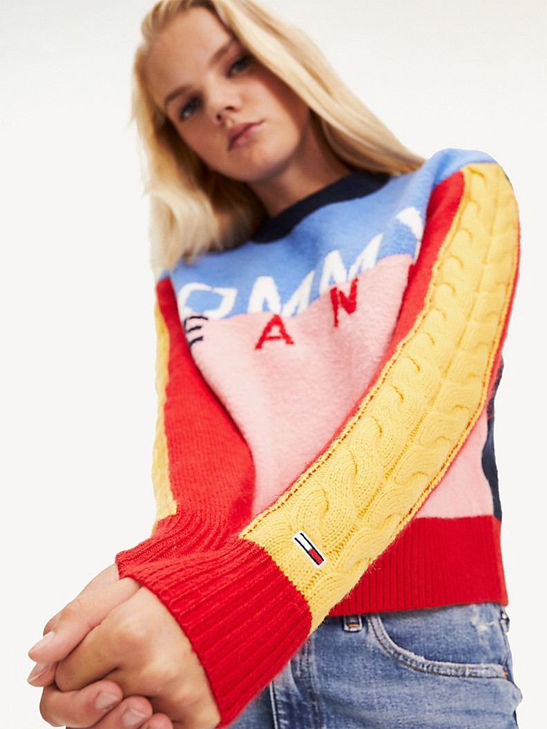 Multicolor Logo Sweater