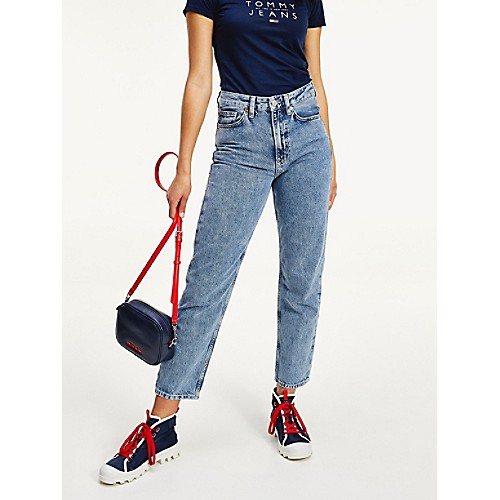 High Rise Straight Fit Jean | Tommy Hilfiger