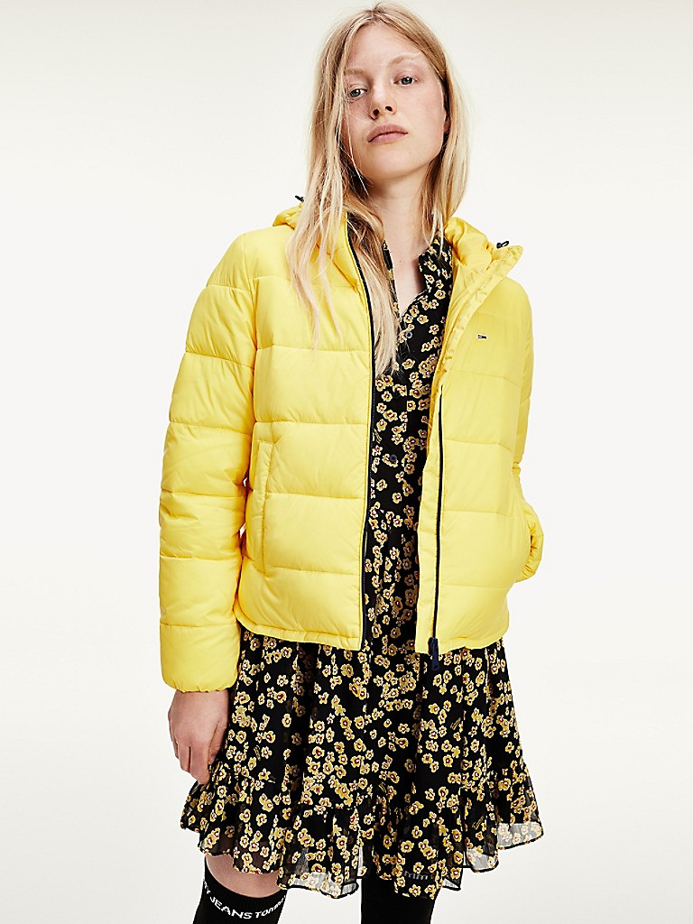 NEW Recycled Nylon Shell Puffer