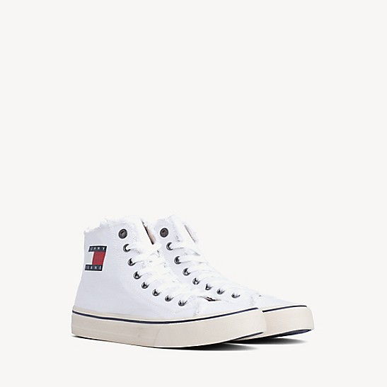 high top sneaker tommy hilfiger