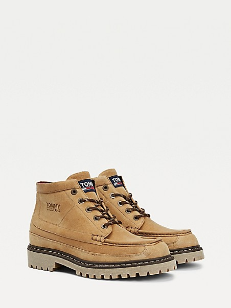 TOMMY JEANS Suede Boot