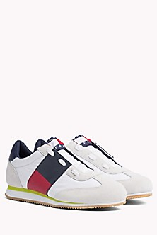 Check Canvas Cupsole Trainers - Sales Up to -50% Tommy Hilfiger cw6bBV