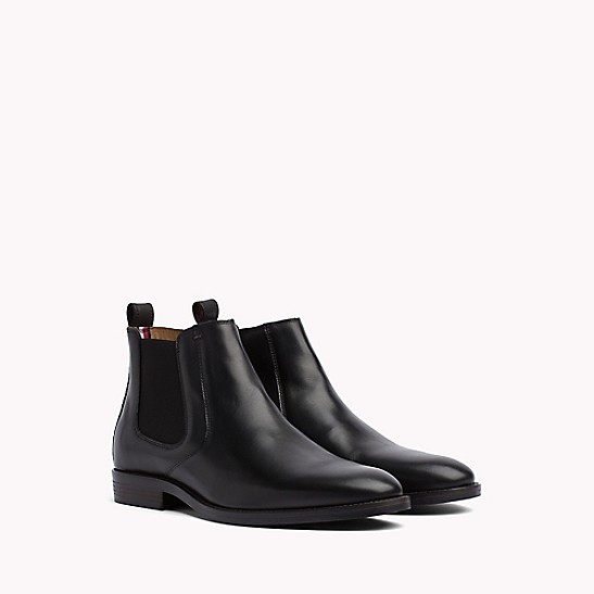 limpid in sight uk availability super cheap Leather Chelsea Boot