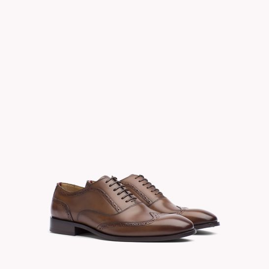 Classic Leather Brogues - Sales Up to -50% Tommy Hilfiger