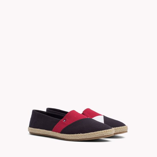 Colour-Blocked Espadrille Shoes - Sales Up to -50% Tommy Hilfiger