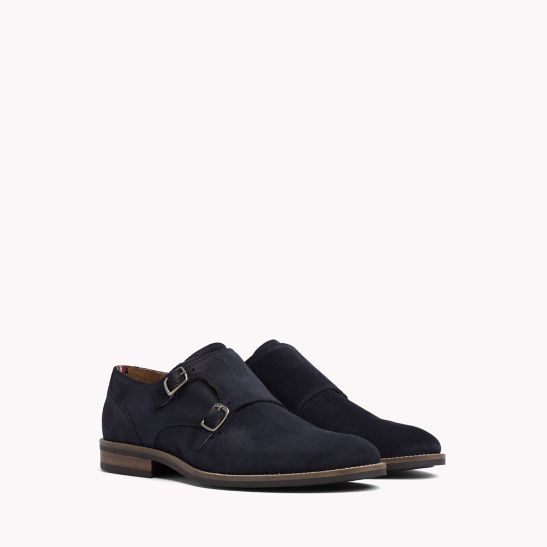 Suede Monk Shoes - Sales Up to -50% Tommy Hilfiger
