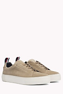 Lightweight Signature Sole Suede Trainers - Sales Up to -50% Tommy Hilfiger uEDai7