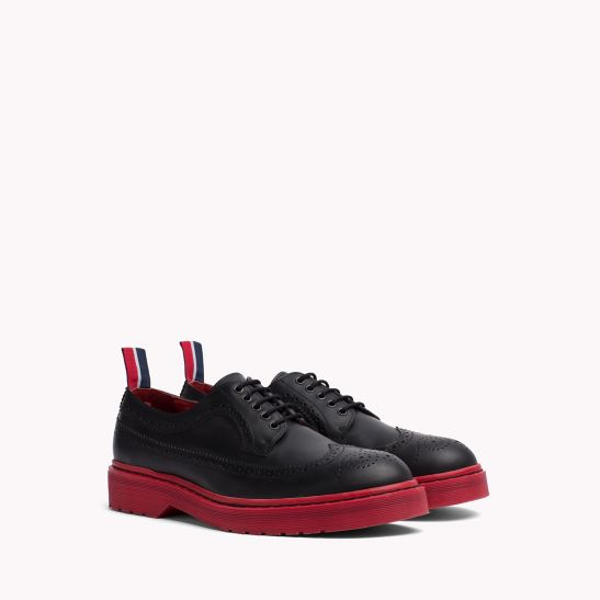 Modern Brogue Shoes - Sales Up to -50% Tommy Hilfiger