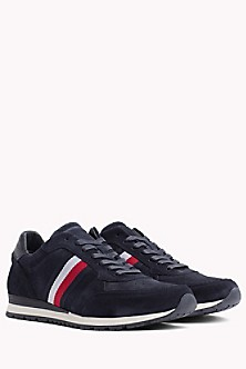 Unlined Suede Running Trainers - Sales Up to -50% Tommy Hilfiger Y4GnQ0