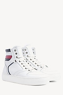 96fed4ffc0 High Top Leather Sneaker