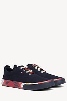 daed05d5a5 Plaid Sole Sneaker