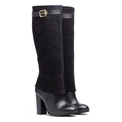 Suede And Leather Tall Boot. Quick View. SALE. TOMMY HILFIGER