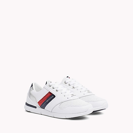Tommy Hilfiger LIGHT WEIGHT LACE UP - Trainers - white allUL8X1fk