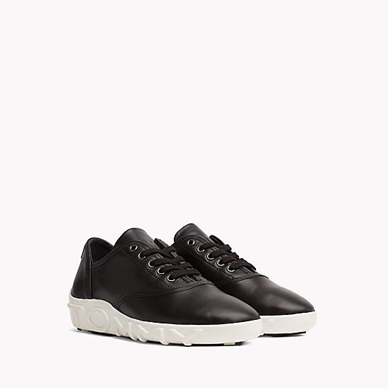 e91c9518a438 SALE Gigi Hadid Leather Sneaker