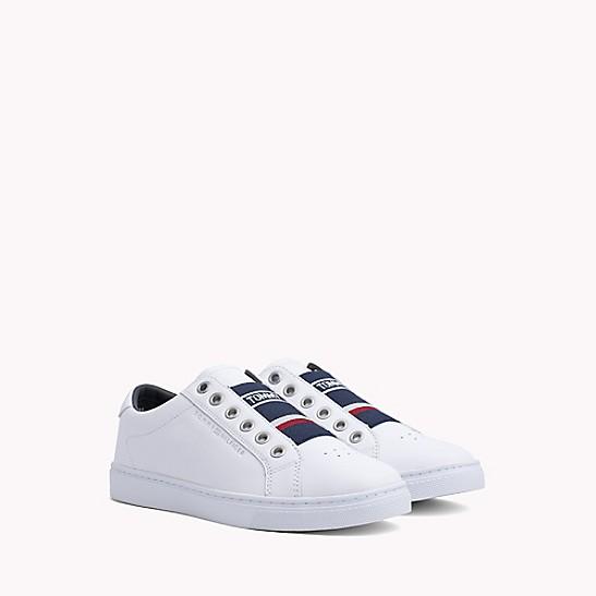 4858bedea04ca Elastic Leather Sneaker