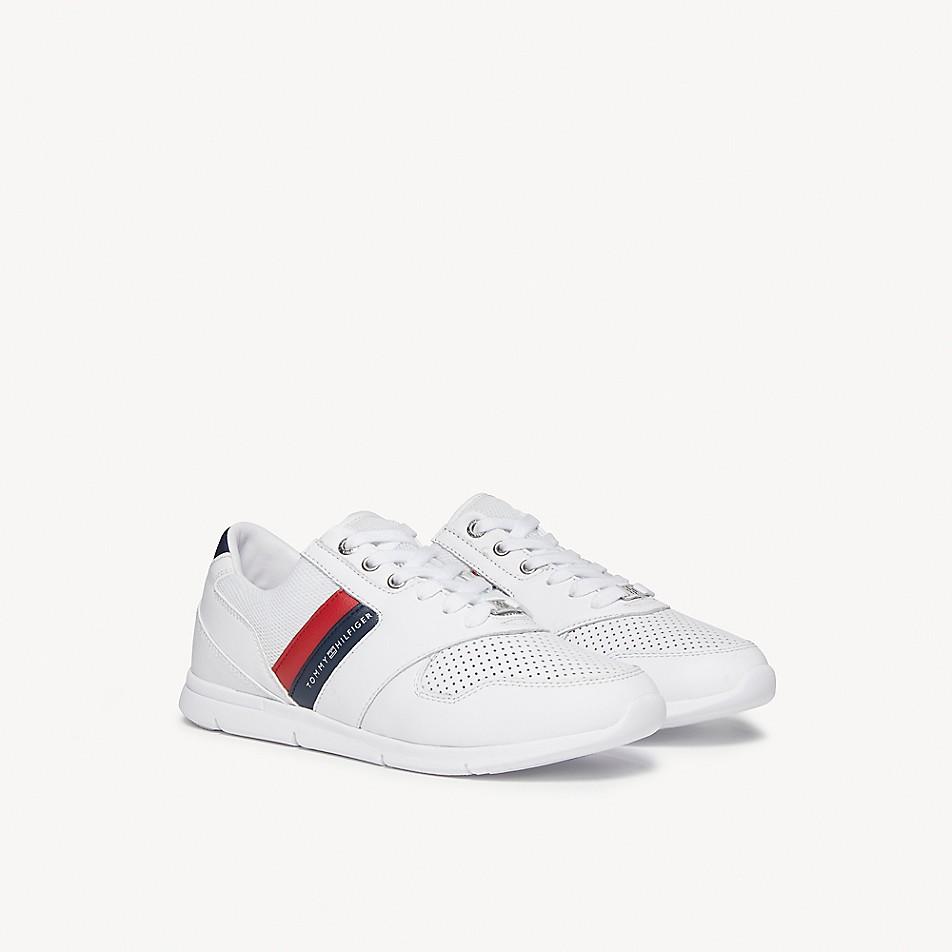 Leather Stripe Sneaker