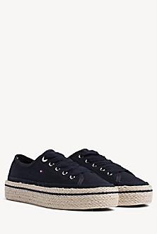 c4a76845359e Linen Platform Sneaker