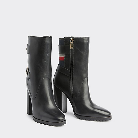 Tommy Hilfiger Leather Ankle Boots in 2019 | Leather ankle