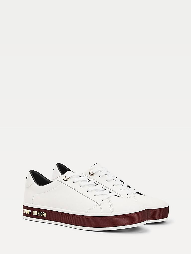 Colorblock Leather Sneaker