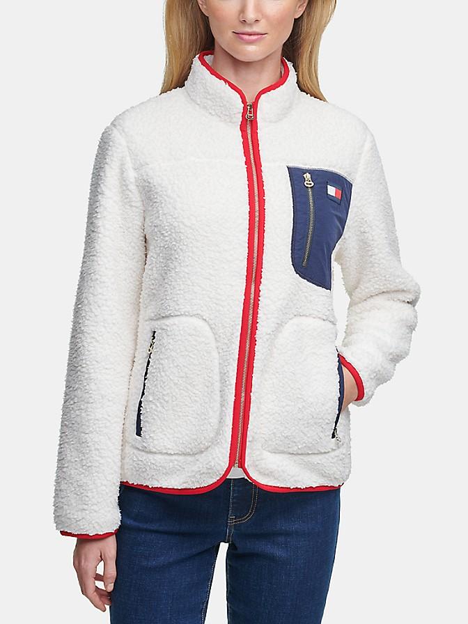 Essential Sherpa Zip Jacket