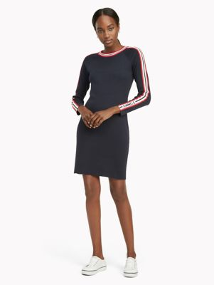 tommy hilfiger long sleeve dress