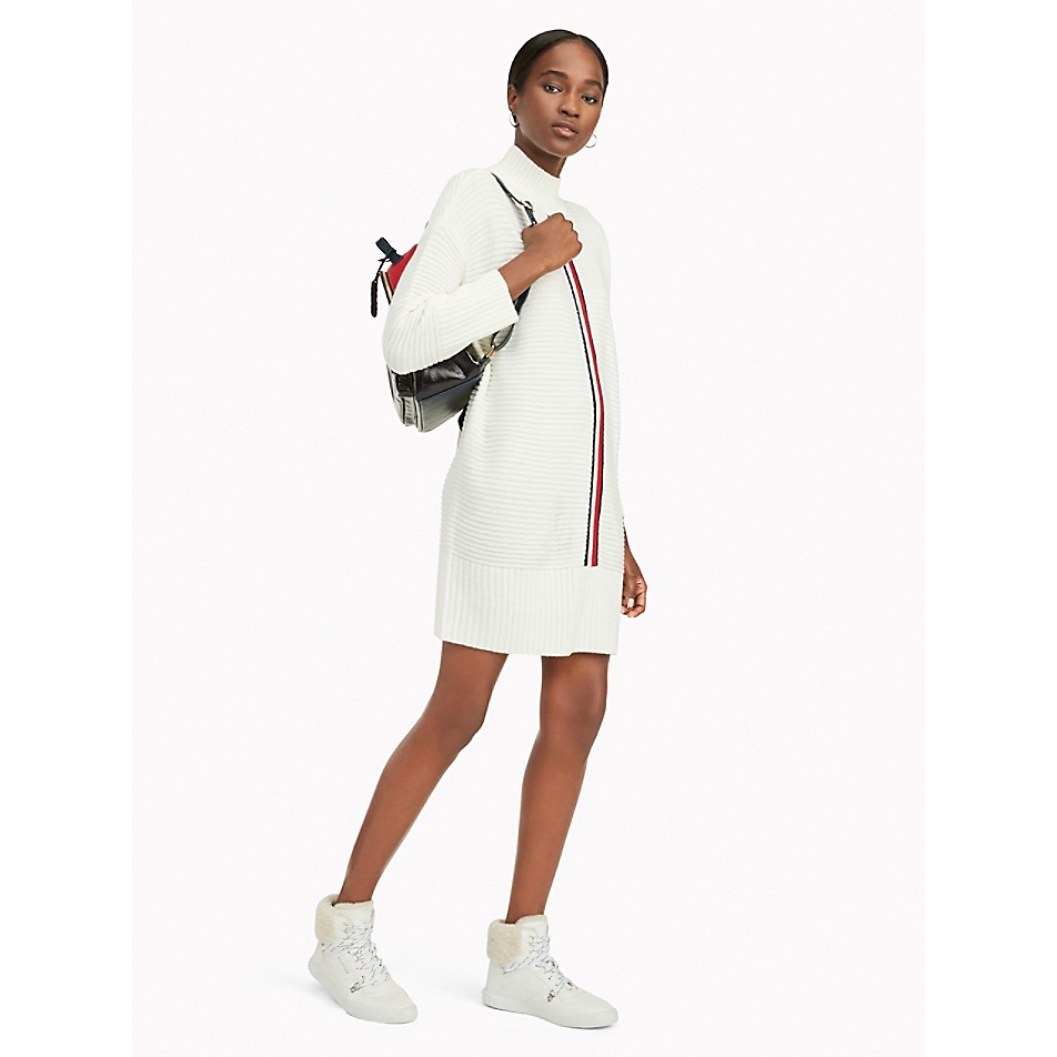 NEW Stripe Sweater Dress
