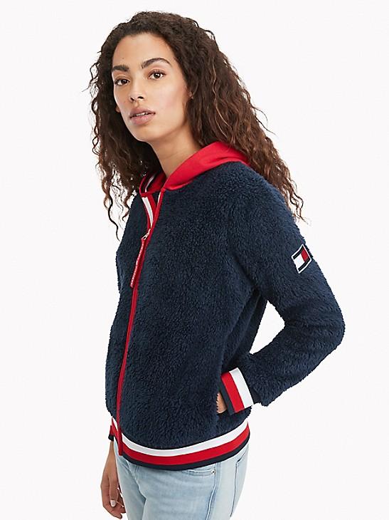 Hooded Sherpa Jacket