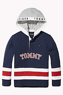 63c802348203 TH Kids Hooded Signature Rugby
