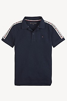 d0ccb9952dee TH Kids Flag Tape Polo