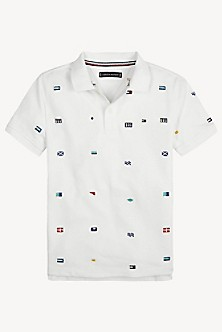 a25b33ec715b TH Kids Flag Polo