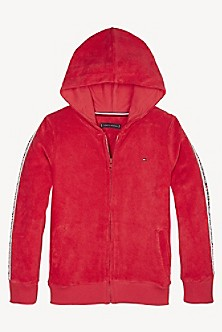 cf57e2fd90c1 TOMMY HILFIGER. TH Kids Short Sleeve Terry Sweatshirt.  49.50. BLACK IRIS.  Final Sale. TH Kids Terry Zip Hoodie