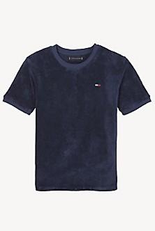 604bd70ded1a TH Kids Short Sleeve Terry Sweatshirt