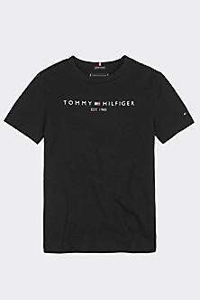 Tommy Hilfiger Jungen T Shirt H Festive AOP CN Tee SS Weiß