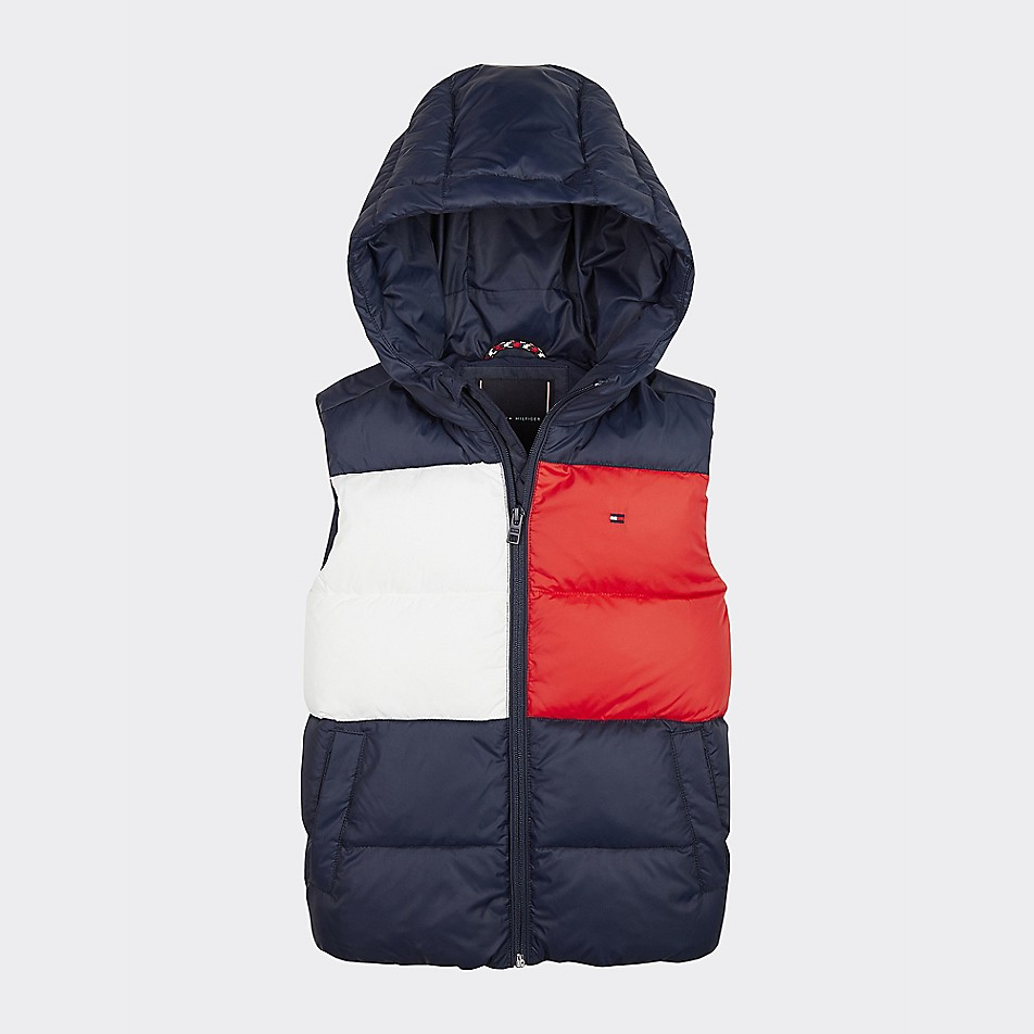 NEW TO SALE TH Kids Padded Flag Vest