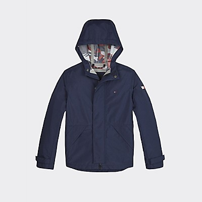 Th Kids Hooded Coat by Tommy Hilfiger
